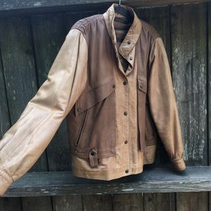 Jackets & Blazers - Marco pierguidi leather jacket